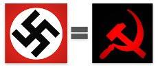 Irmãos Siameses: Nazismo (Nacional Socialismo) = Comunismo