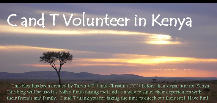 C and T Volunteer in Kenya