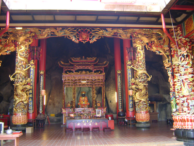 Main Shrine hall of Chin Swee Temple Genting Highlands