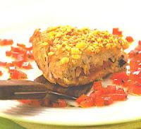 Rosti de Inhame com Tomate Seco