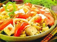 Salteado de Tofu com Erva-Doce