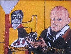 Picasso and His Owls