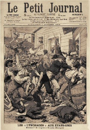 Massacre of Blacks in Atlanta