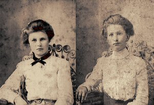 Janie (left) and Mary Lyerly
