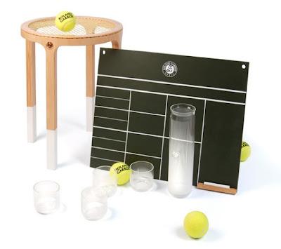 Trecool, 3 sets, diseños para roland-garros 2009, 5.5 designers, tenis