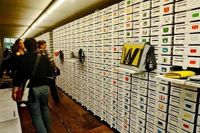 Trecool, Freitag, zürich, una tienda con 26 contenedores