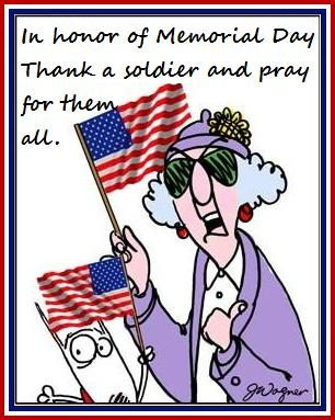 love maxine maxine about Memorial Day