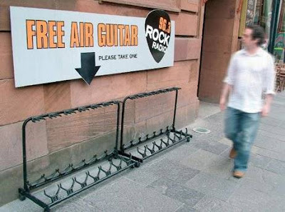 free air guitar