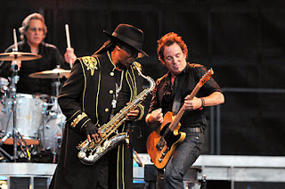 bruce springsteen live in concert with clarence