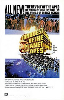 conquest of the planet of the apes movie poster picture review cornelius