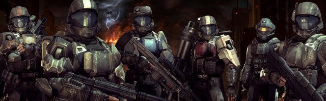 the team of ODST soldiers from Halo 3 ODST
