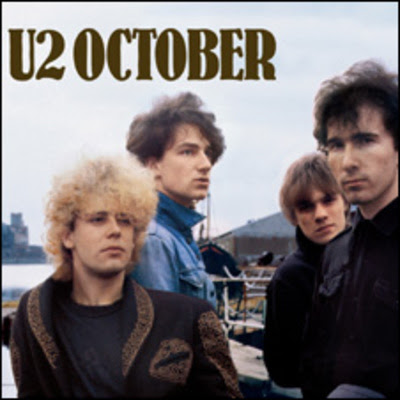 u2 october album cover