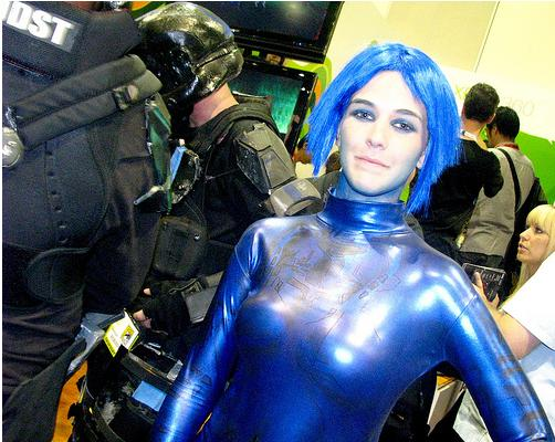 cosplay cortana halo