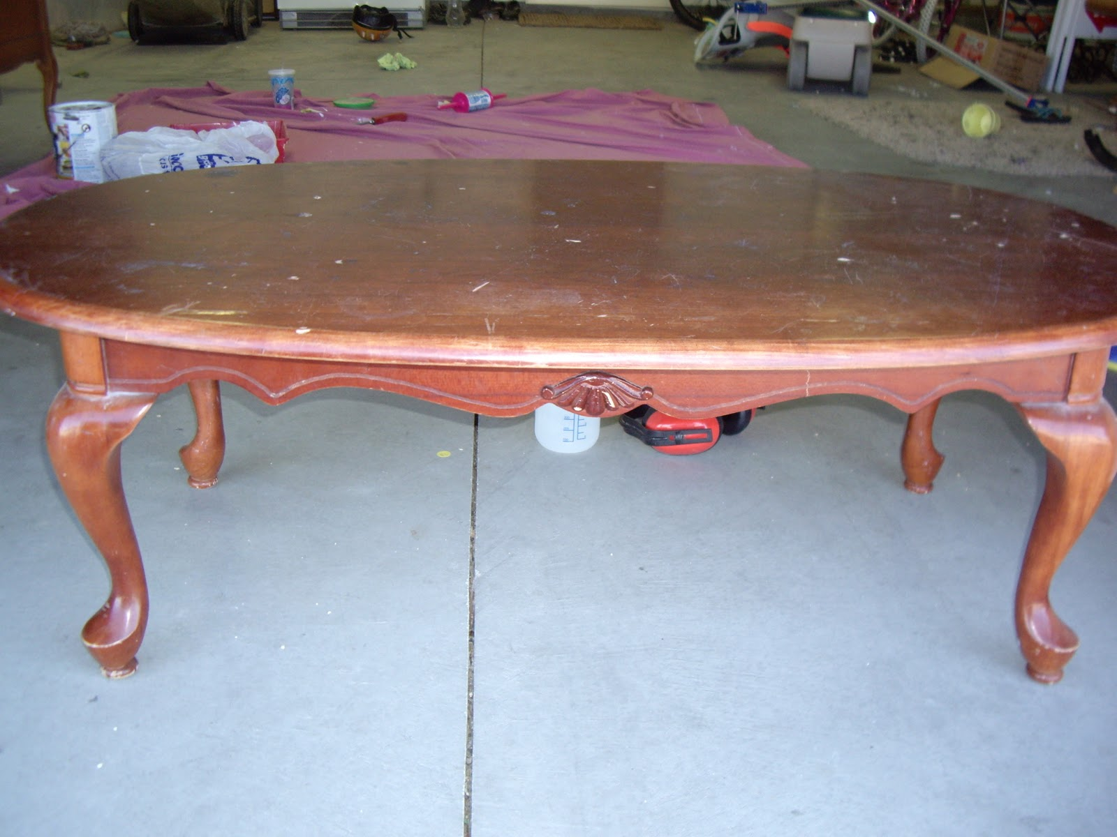 A Brush Of Whimsy French Provincial Coffee Table And End Tables Set