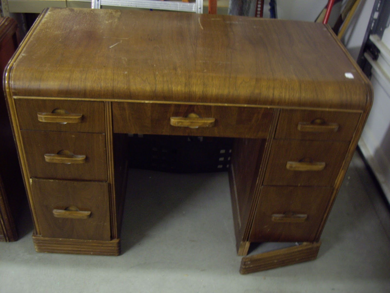 A Brush of Whimsy Waterfall Desk