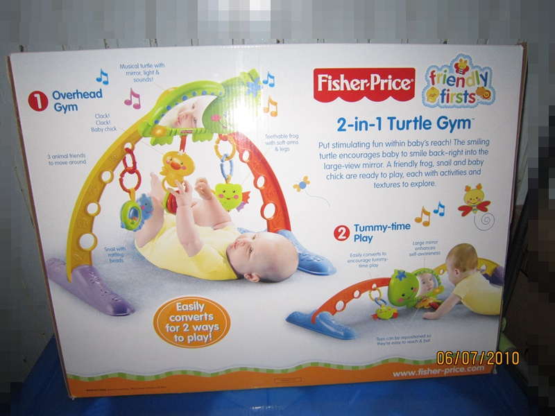 baby gym fisher price