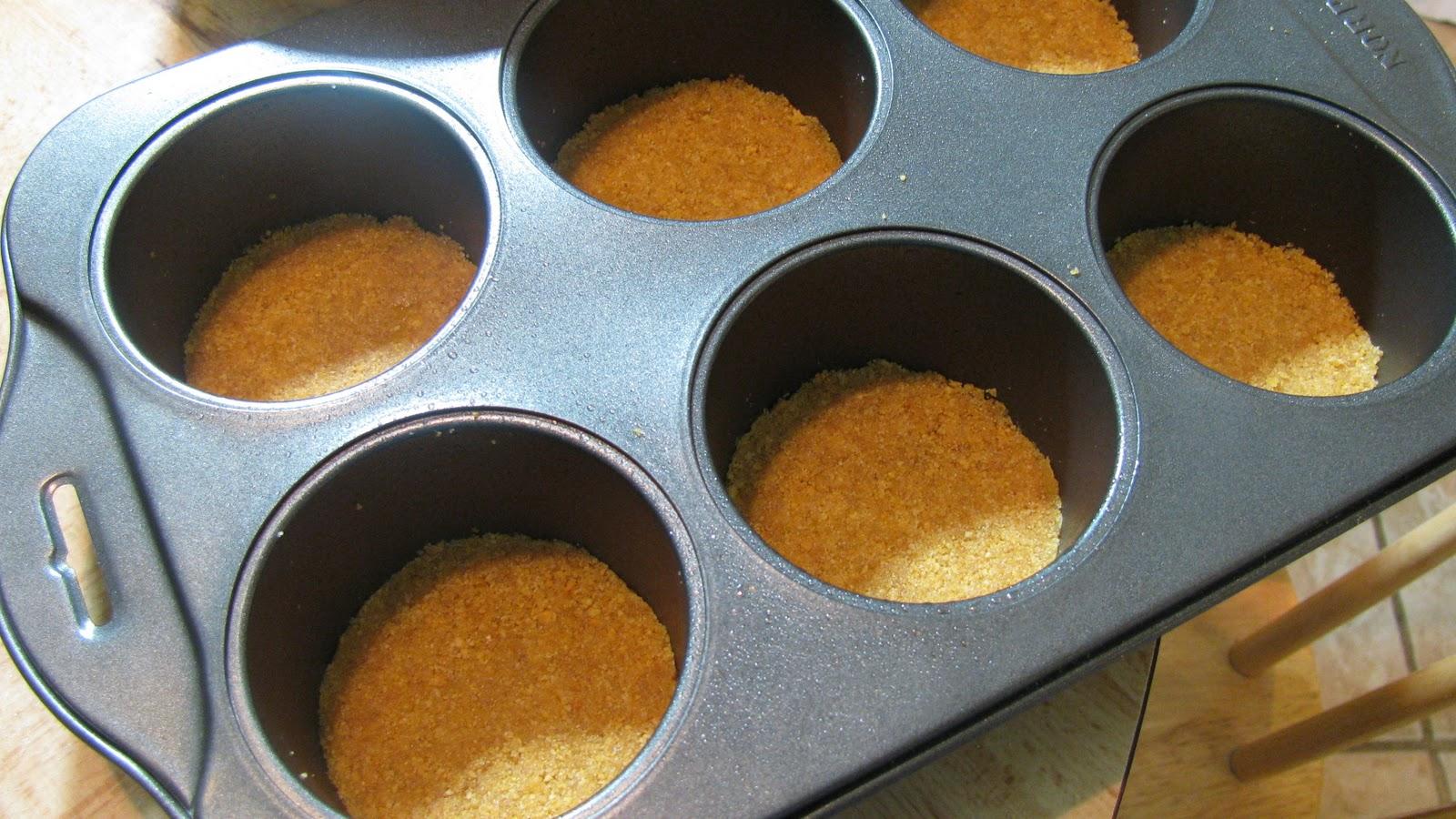 how to use mini cheese cake pan