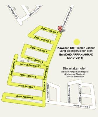 Kawasan KRT  (Fasa1) Taman Jasmin