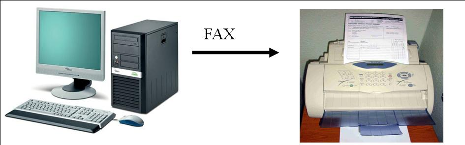 how to setup a fax machine at home