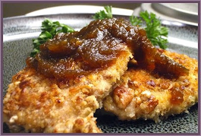 ... of Cooking and Baking: Pecan Crusted Pork Chops with Pumpkin Butter
