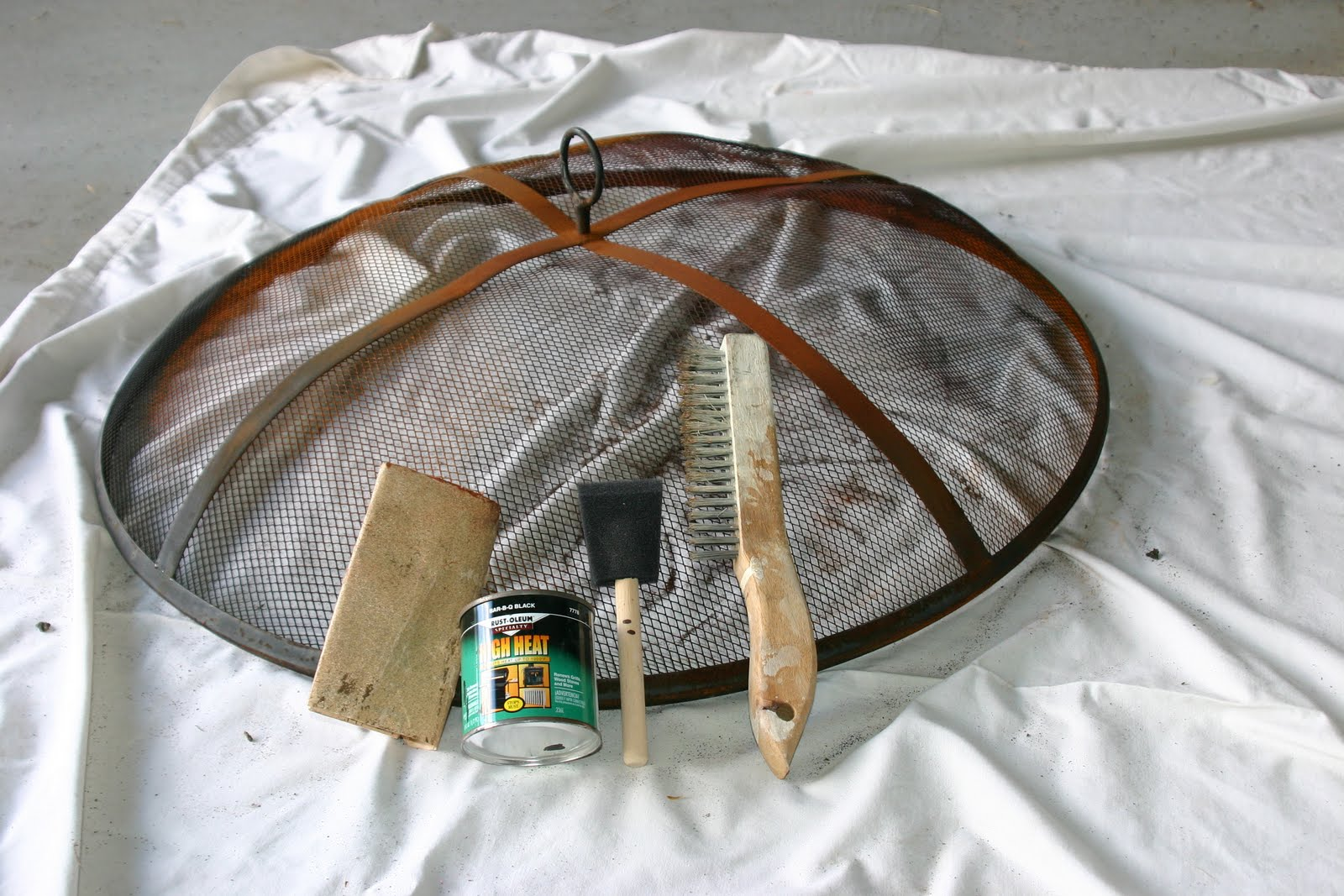 Cleaning Fire Pit : Cleaning a copper fire pit shine your light