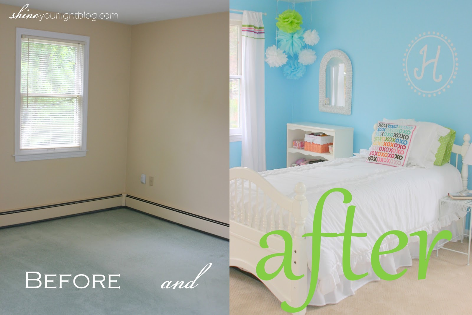 Light Blue Painted Rooms | Home Staging Furniture 2014