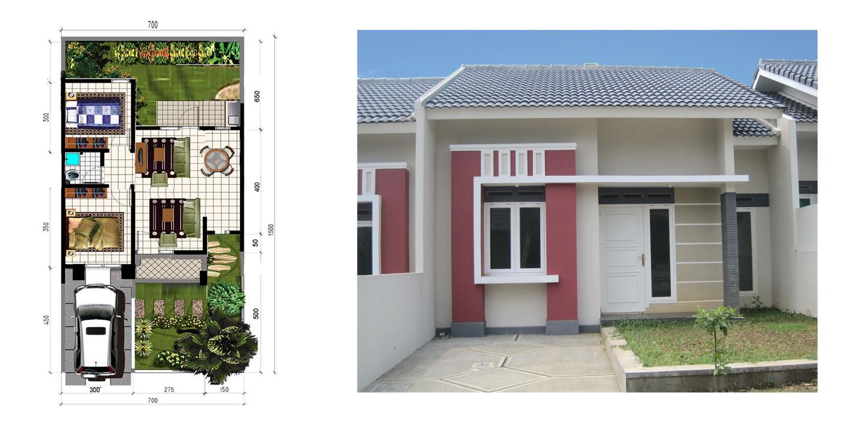 Gambar Desain Rumah Minimalis Type 45 105 Terbaru Desain Rumah