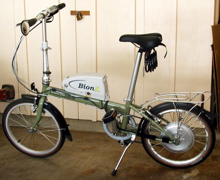 BionX Electric Bike Conversion Kit