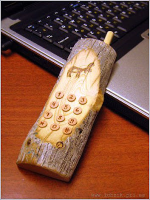 Russian Wooden Cellphone Russian Wooden Cellphone