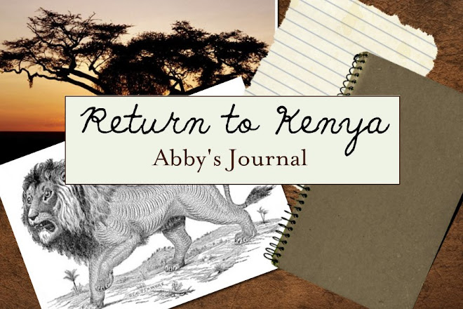 Return to Kenya - Abby's Journal