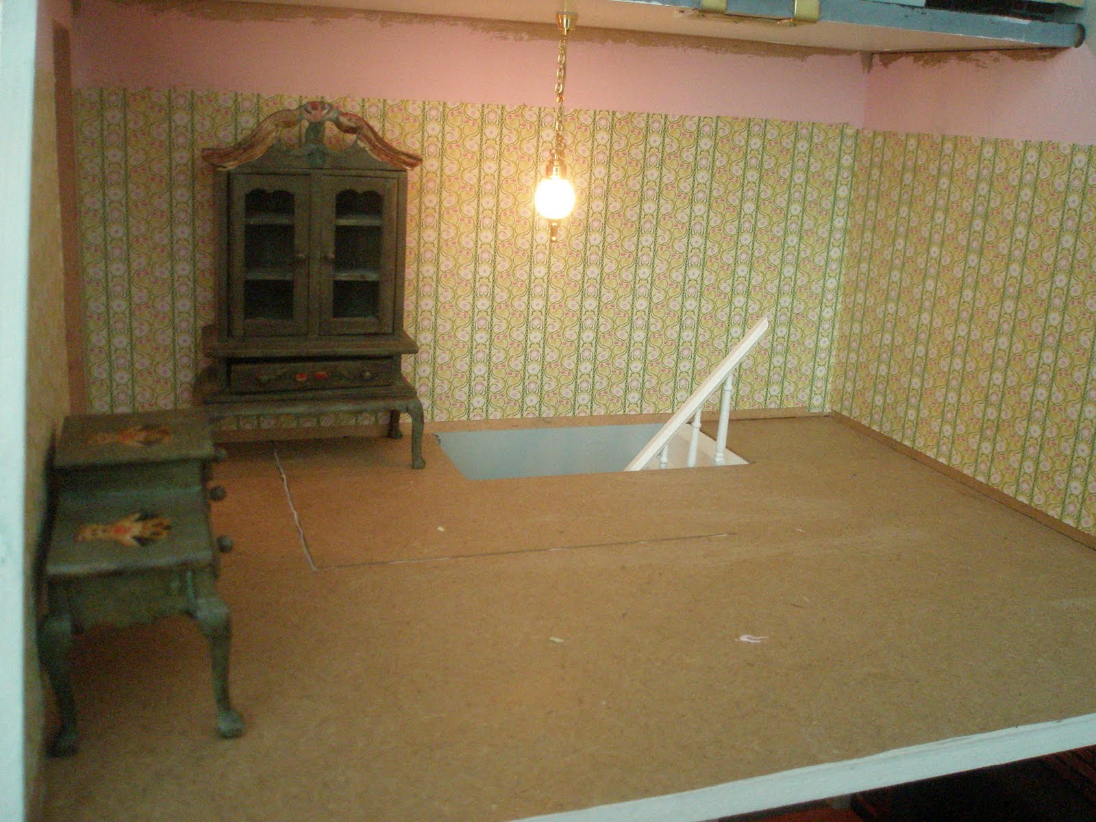 dolls house wallpaper bedroom - photo #37
