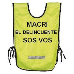 El chaleco de Macri
