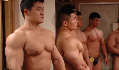 Asian gay muscle porn