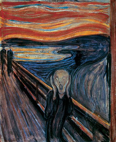 L'urlo di Edvard Munch 1893