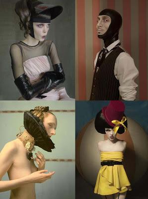 Eugenio Recuenco Karl Lagerfeld Fashion Show