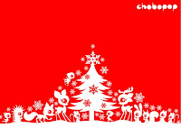 Red And White Christmas Background