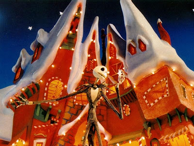 Nightmare before christmas shopping wallpaper