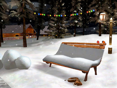3d animated christmas backgrounds