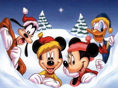 Free Christmas Backgrounds By Disney
