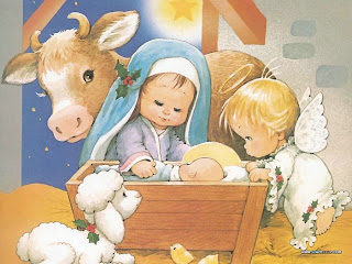 Nativity Christmas Background
