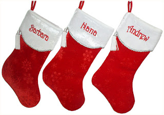custom christmas stocking backgrounds