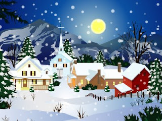 Christmas Scene Animated Backgrounds