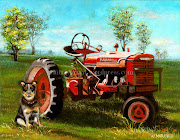 How did you get interested in creating art of farm animals?
