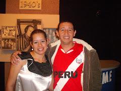 con un amigo peruano  de lima...