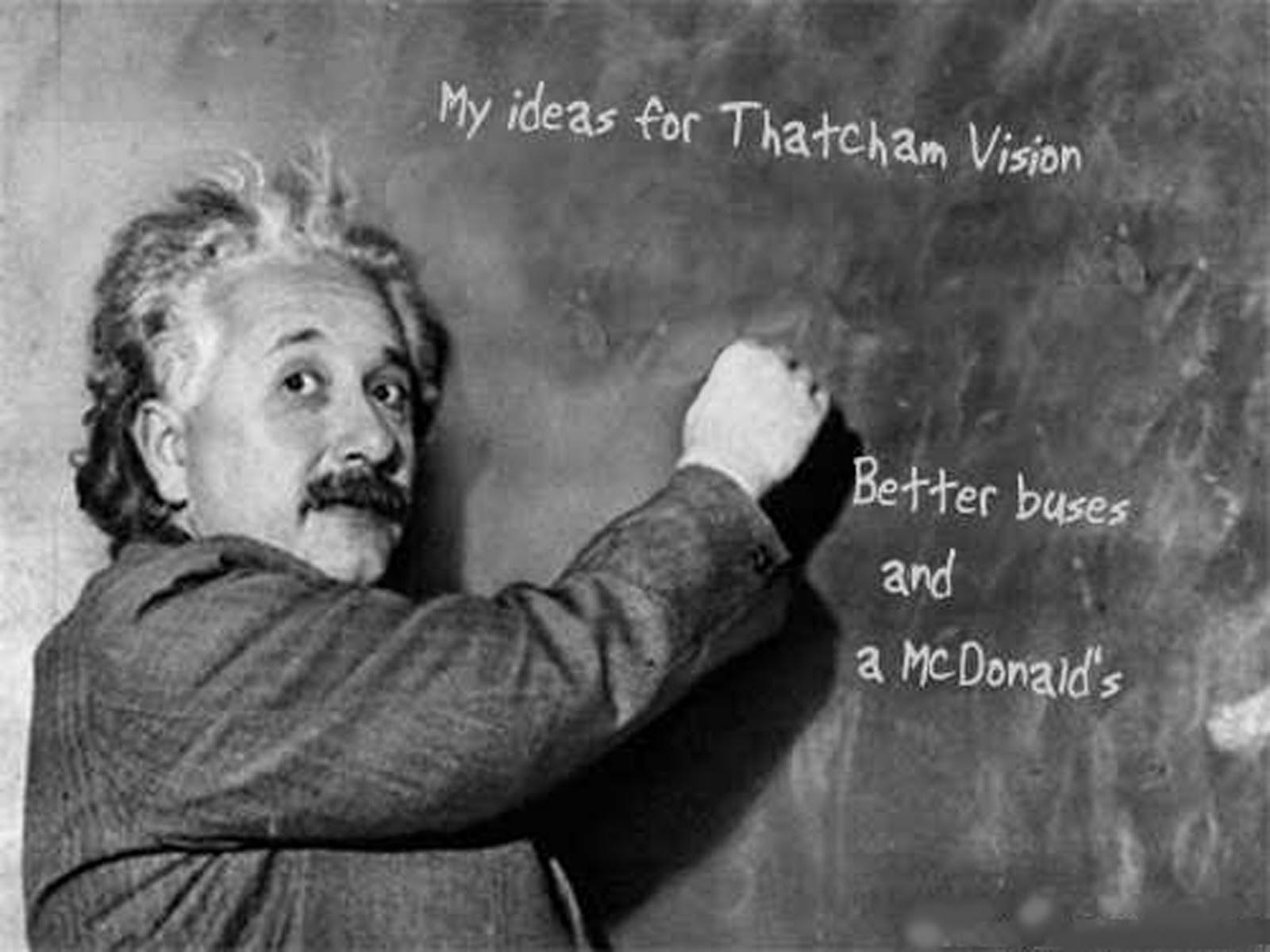 Albert Einstein Writing