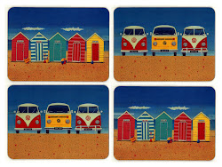 Camper vans and beach huts rule ok!