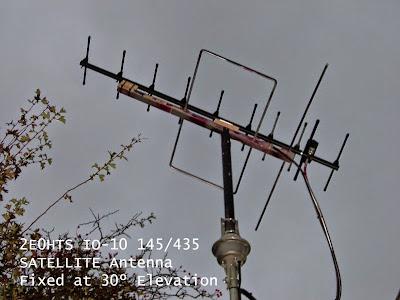 Ham Radio: 2E0HTS IO-10EL 145-435 Satellite Antenna