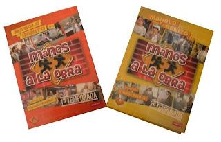 Caja de los DVDs de Manos a la Obra