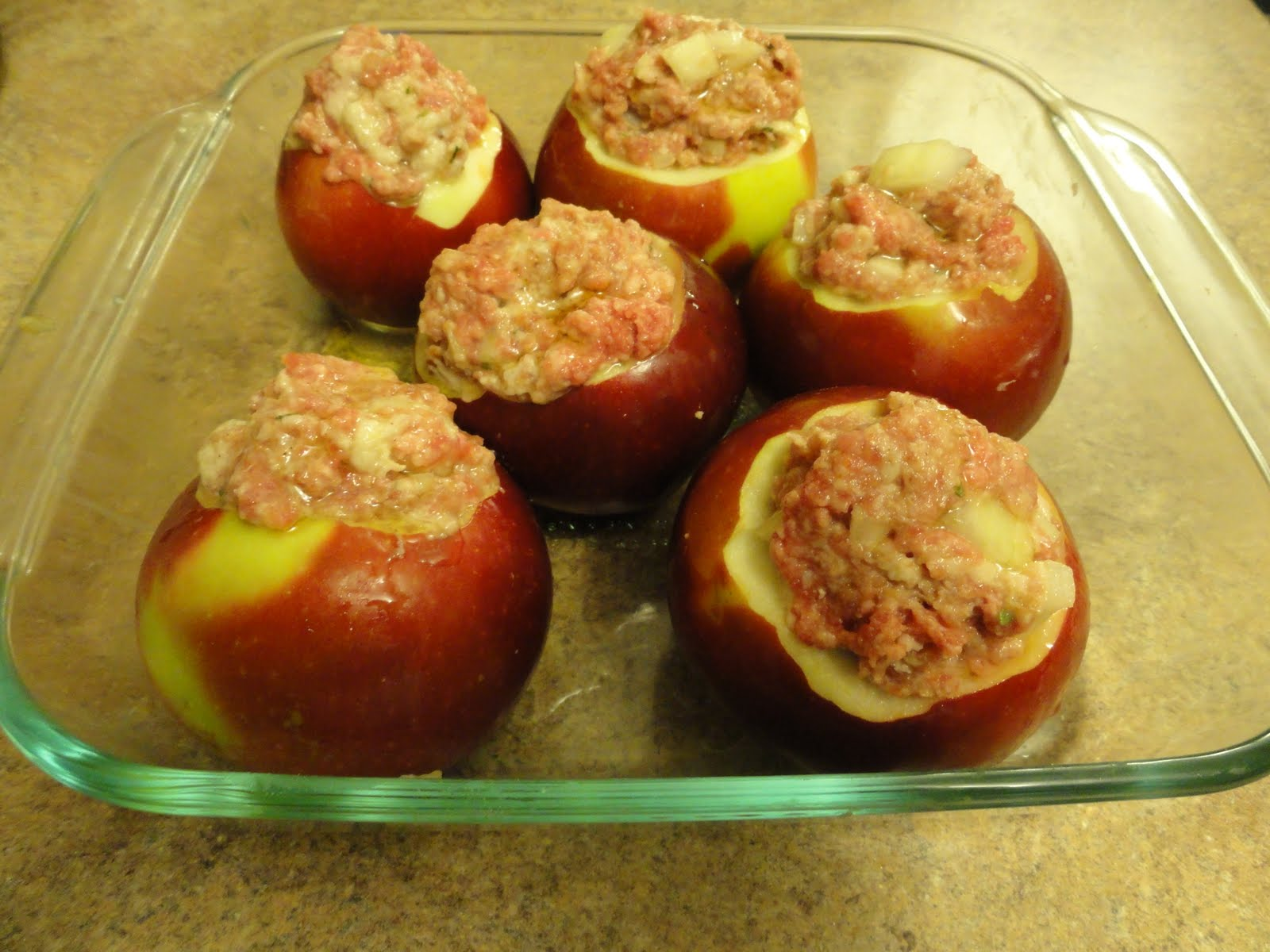 My Kitchen, My Sanctuary: Stuffed Baked Apples