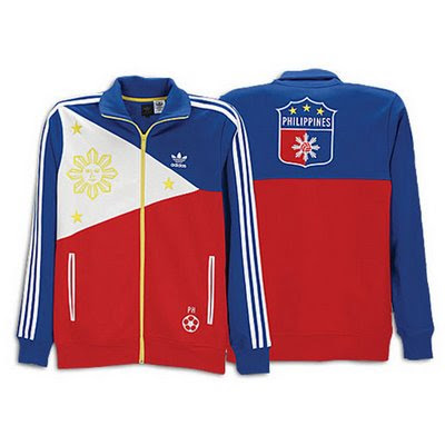 I hereby present to you the Philippine Flag jacket by Adidas.